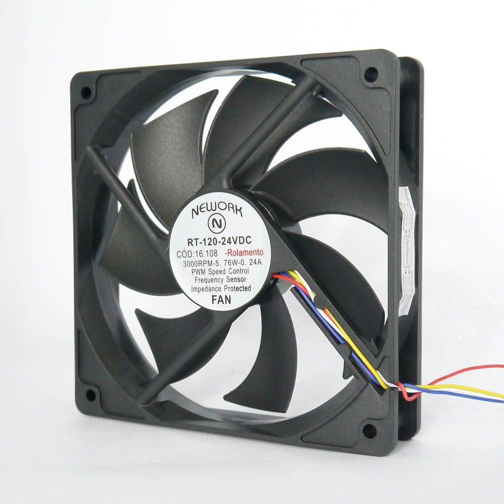Miniventilador Nework 120X120X25 24VDC Código 16.108