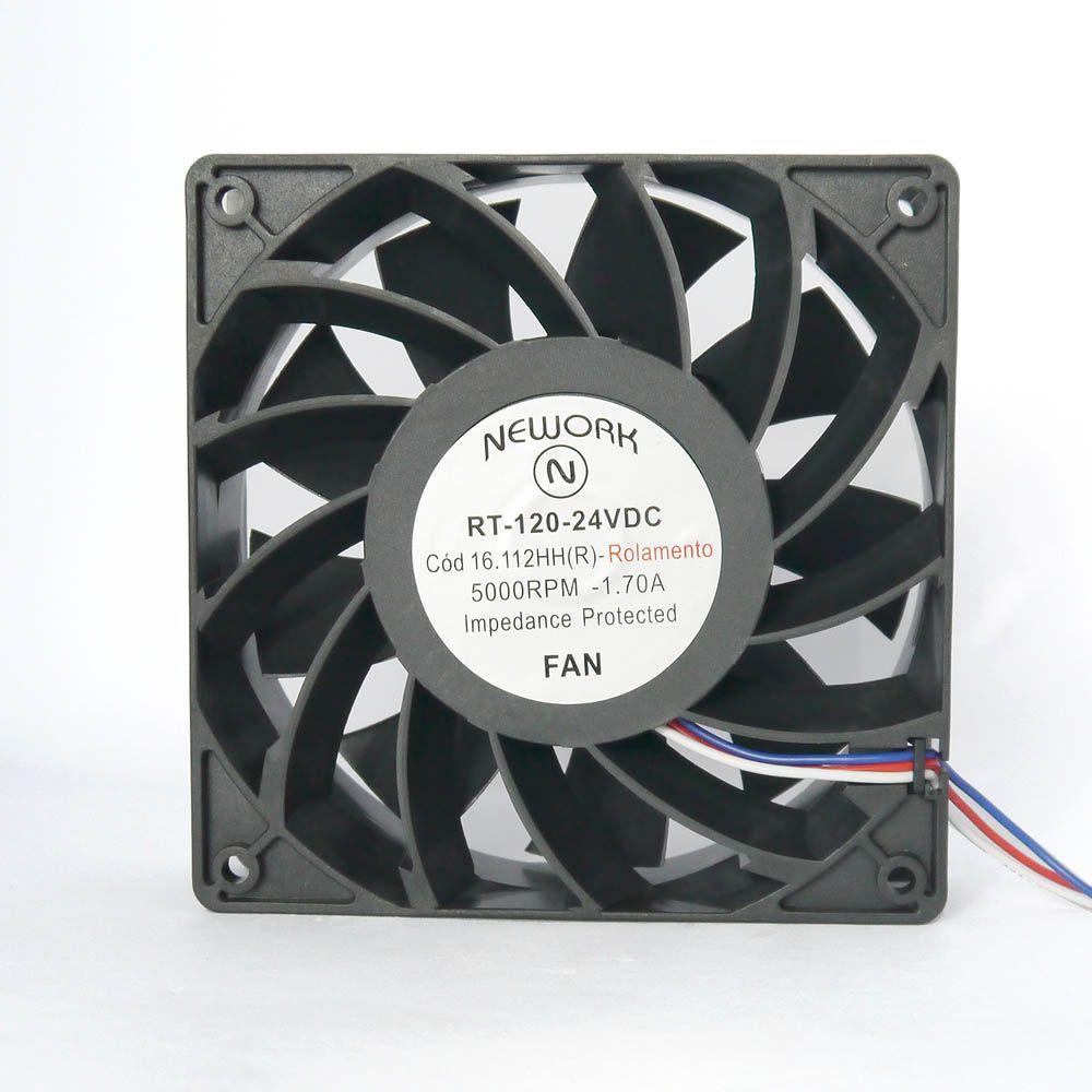 Miniventilador Nework 120X120X38 24VDC Código 16.112 HHr