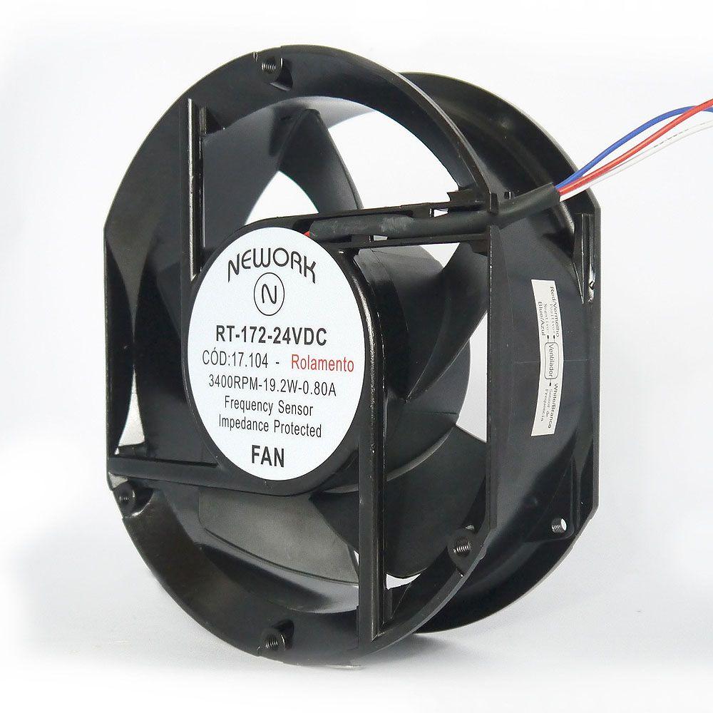 Miniventilador Nework 172X150X51 24VDC Código 17.104