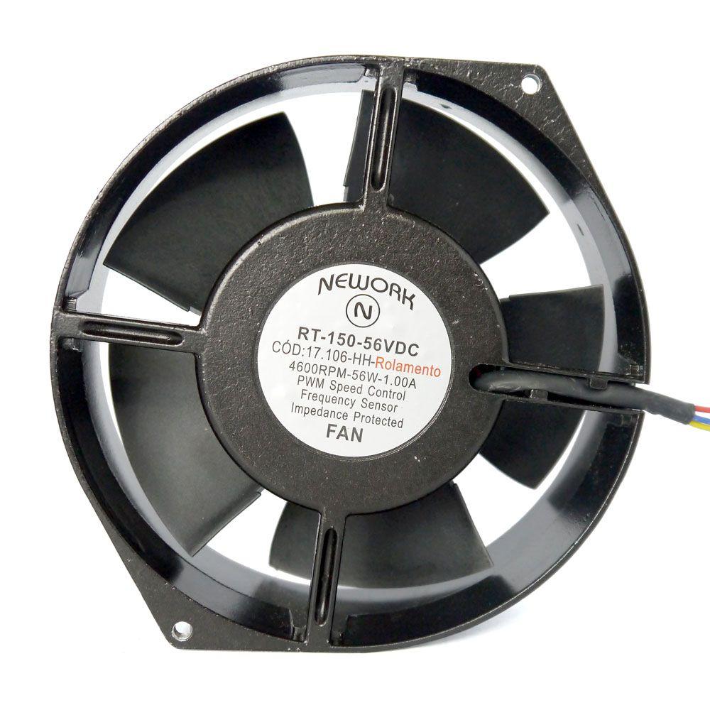 Miniventilador Código 17.106-HH Dimensão(mm) 172X150X55 48VDC