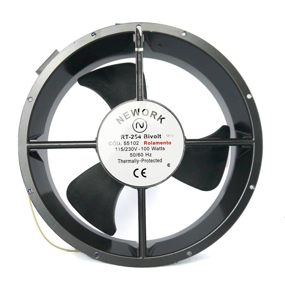 Miniventilador Nework 254X89 Bivolt Código 55.102