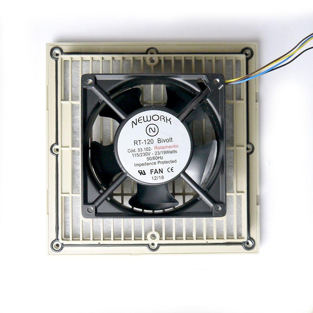 Conjunto De Ventilação Código 5311 Dimensão (mm) 205X205