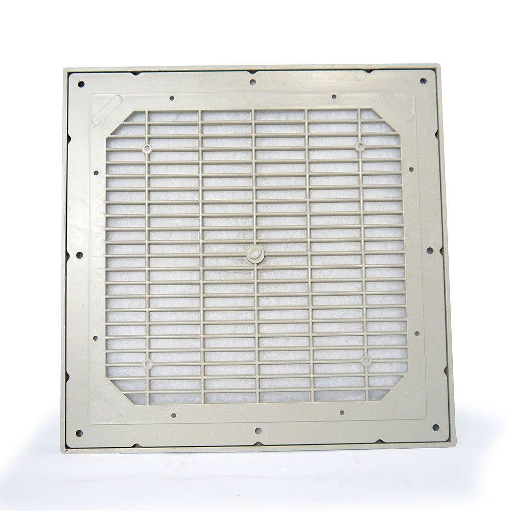 Grelha de Ventilação Código 4410-S Dimensão (mm) 258X258