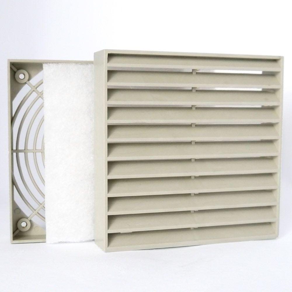 Grelha de Ventilação Código 4210-S - Dimensão(mm)- 130X130 (Sobrepor)