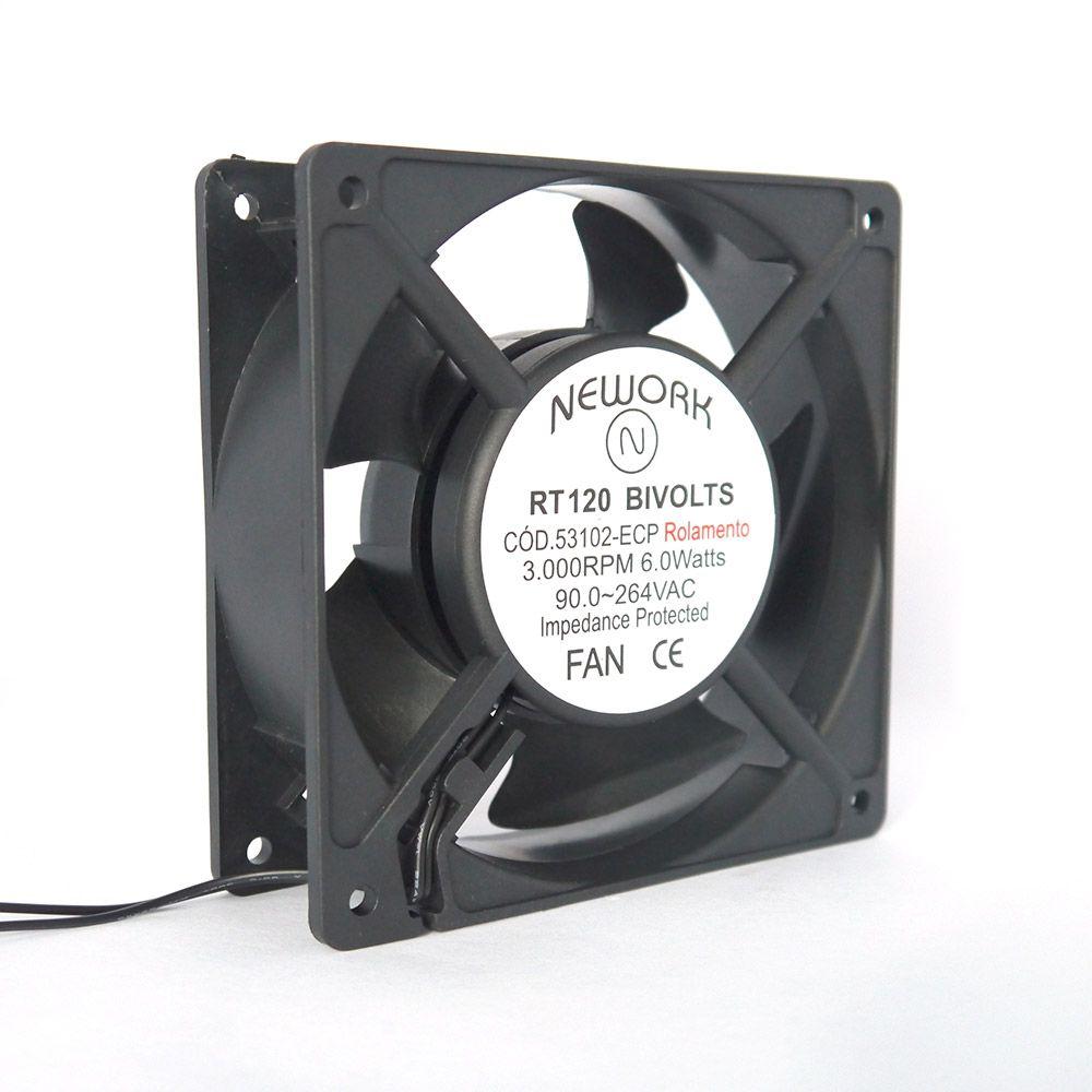 Miniventilador Nework 120X120X38 Bivolt Código 53.102-ECP