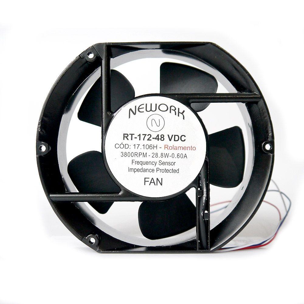 Miniventilador Nework 172X150X51 48 VDC Código 17.106 H
