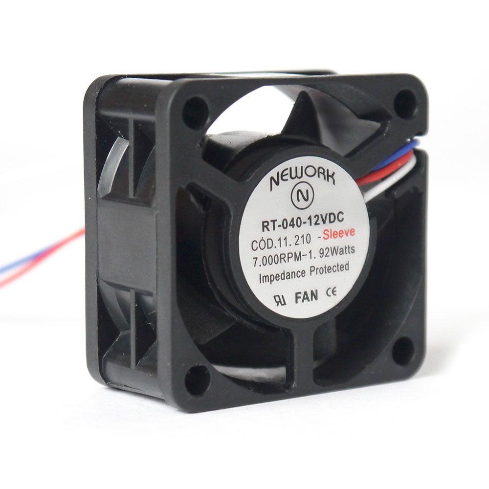 Miniventilador Código 11.210 Dimensão(mm) 40X40x20 12VDC