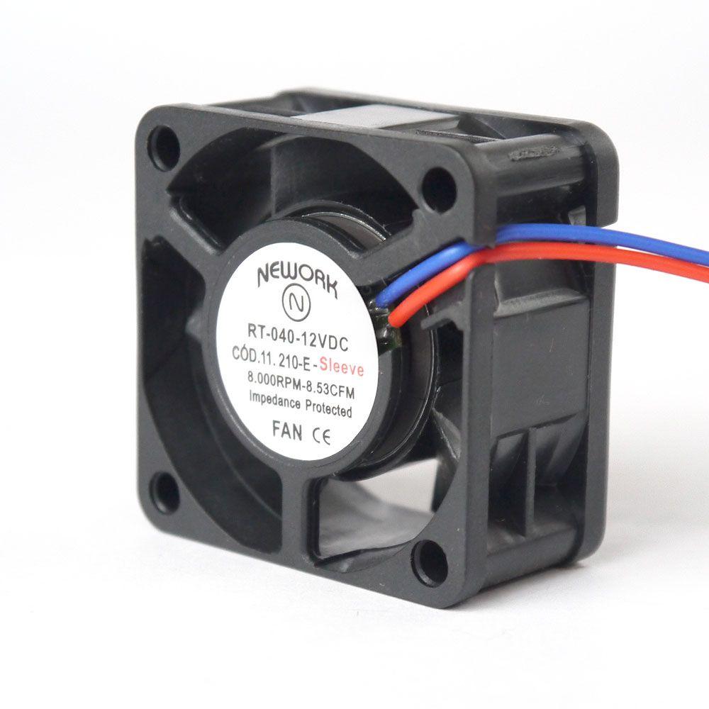 Miniventilador Nework 40X40X20 12 VDC Código 11.210 EA