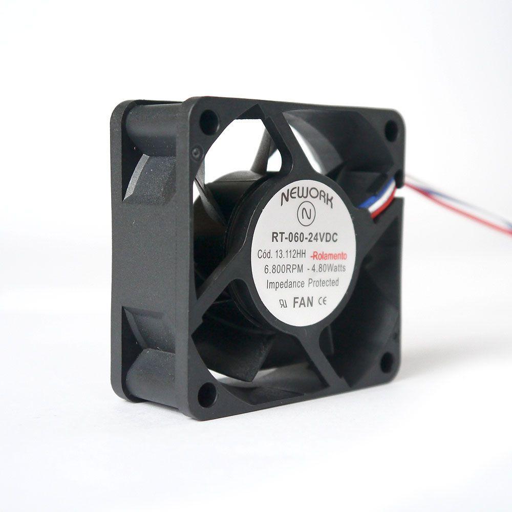 Miniventilador Nework 60X60X25 24 VDC Código 13.112-HH