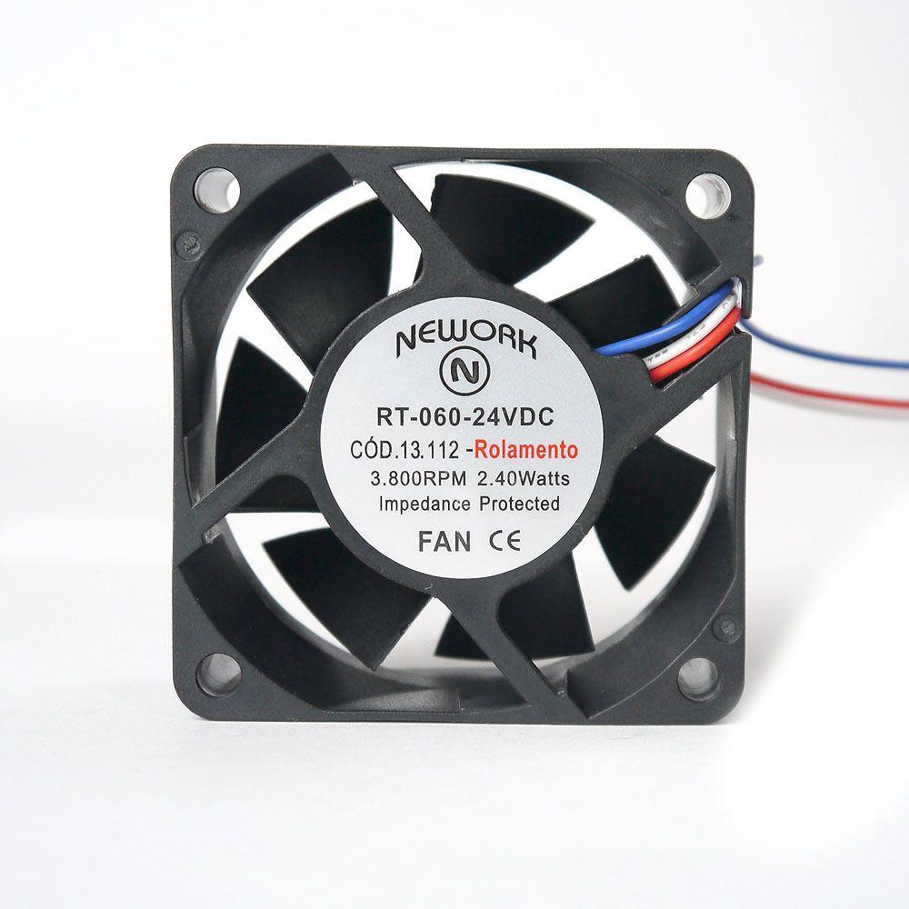 Miniventilador Nework 60X60X25 24 VDC  Código 13.112