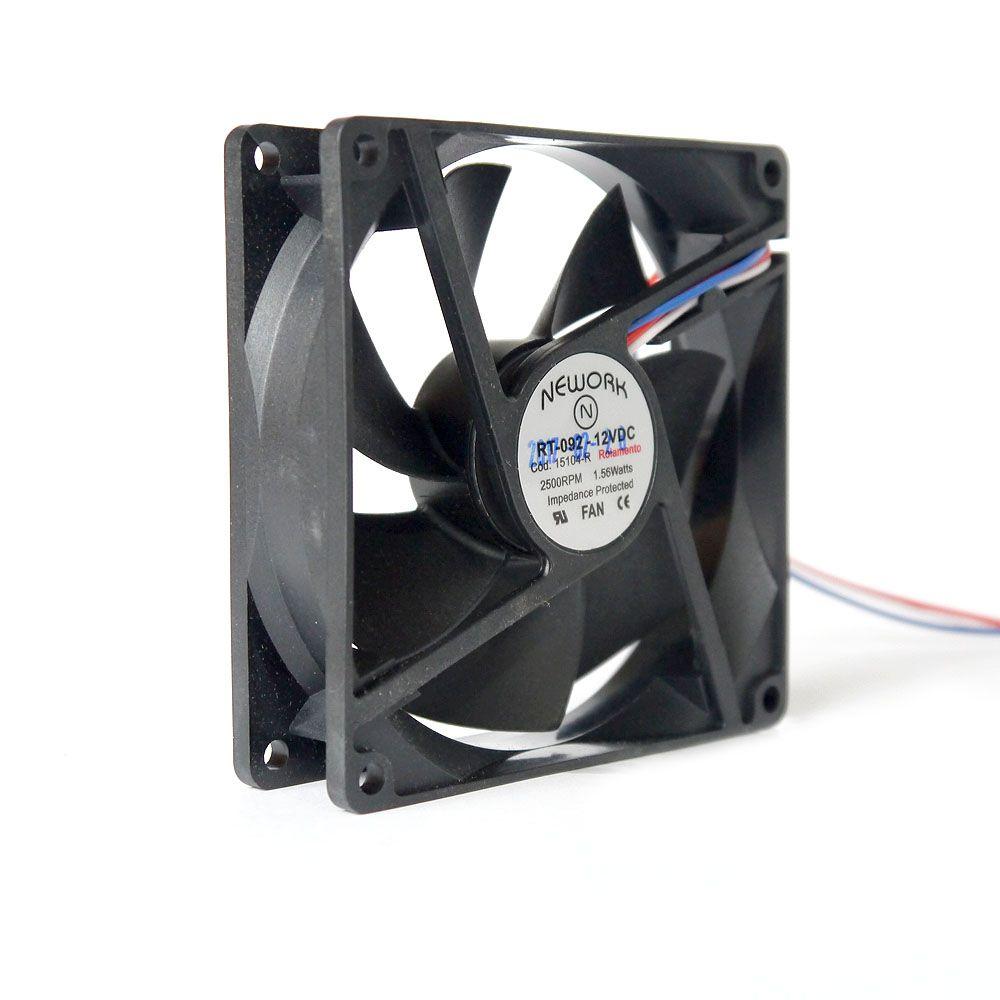 Miniventilador Nework 92X92X25 12 VDC Código 15.104 R