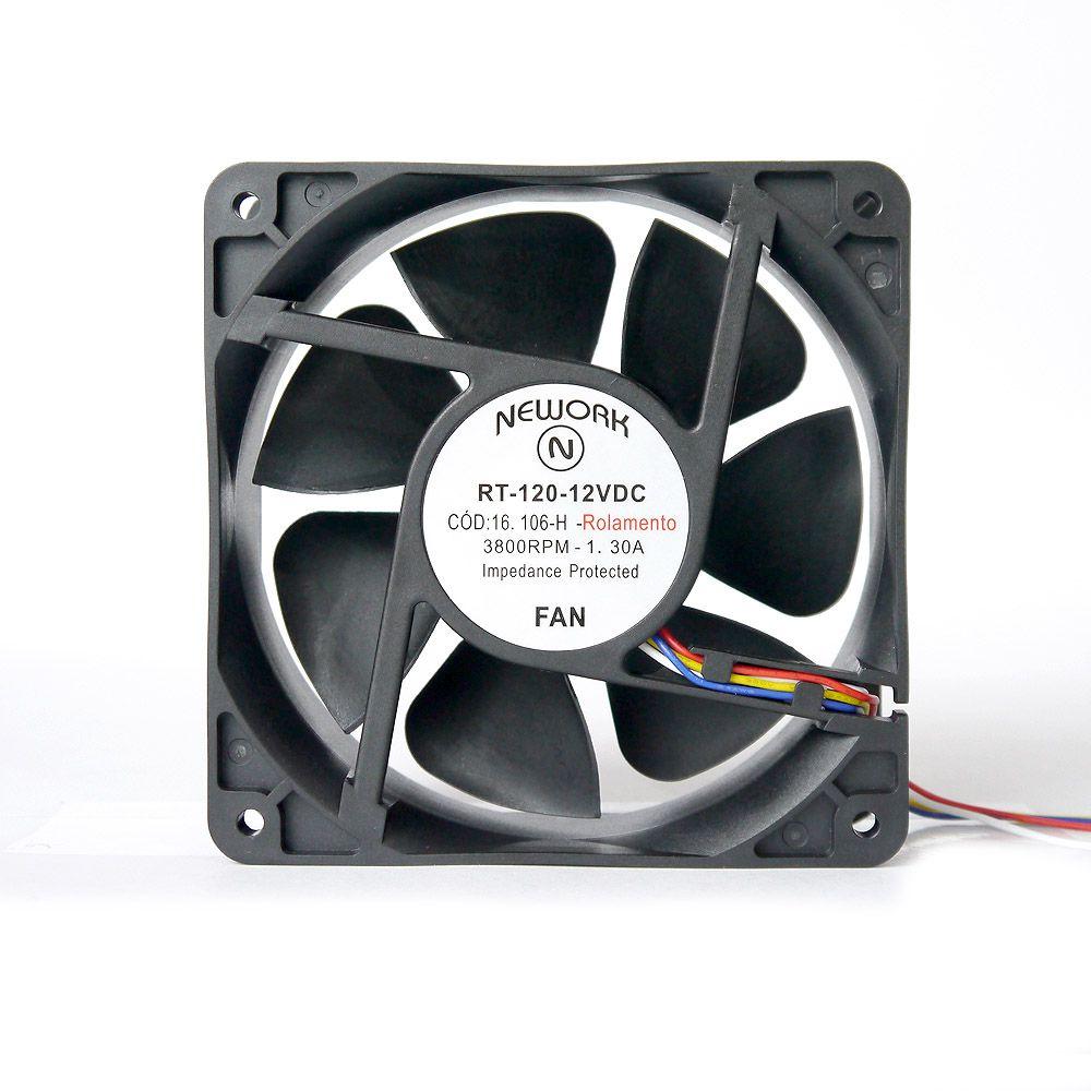 Miniventilador Nework 120X120X38 12 VDC Código 16.106 H