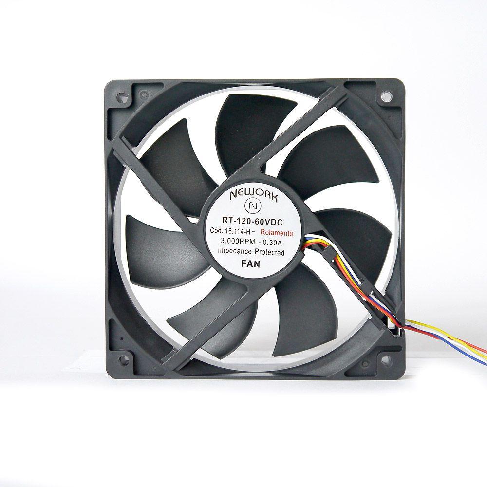 Miniventilador Nework 120X120X25 48 VDC Código 16.114 H
