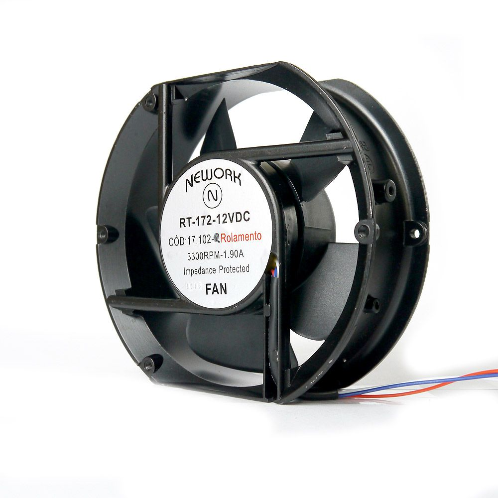 Miniventilador Nework 172X150X51 12 VDC Código 17.102 R