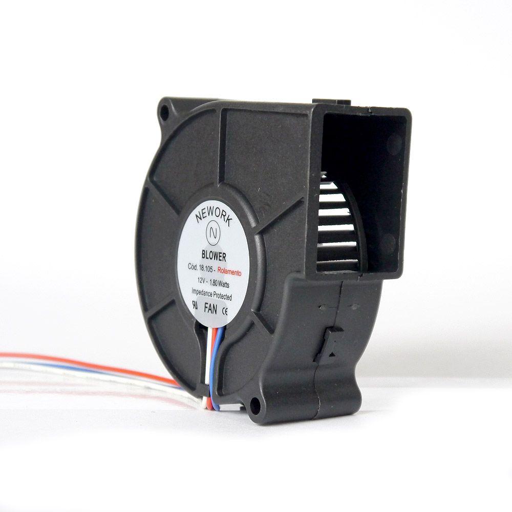 Miniventilador Código 18.105 Dimensão (mm) 80X80X30 12 VDC
