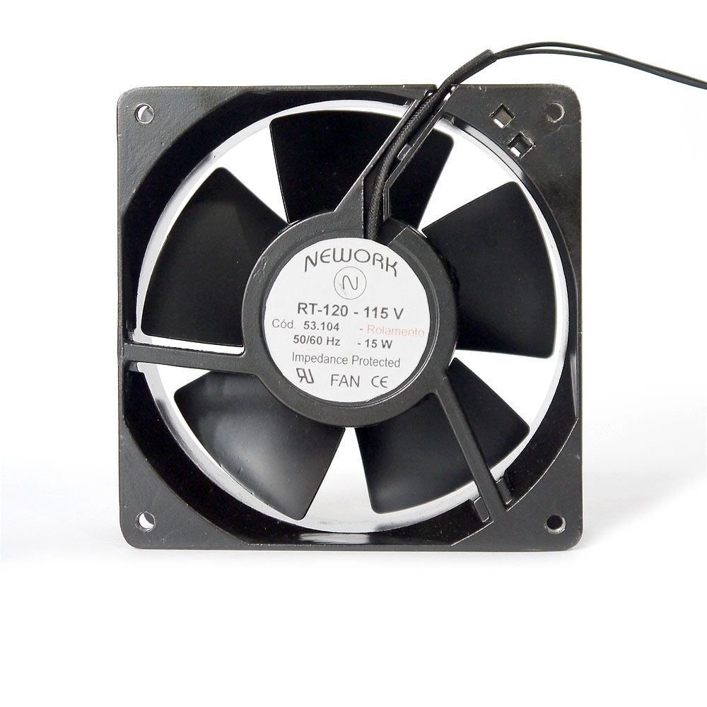 miniventilador Nework 120X120X38 115 Volts  Código 53.104