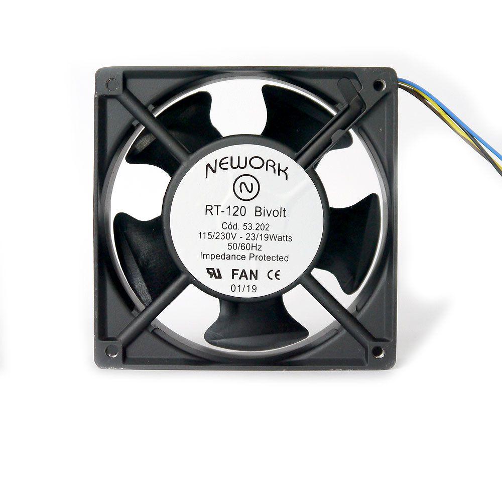 Miniventilador Nework 120X120X38 Bivolt Código 53.202