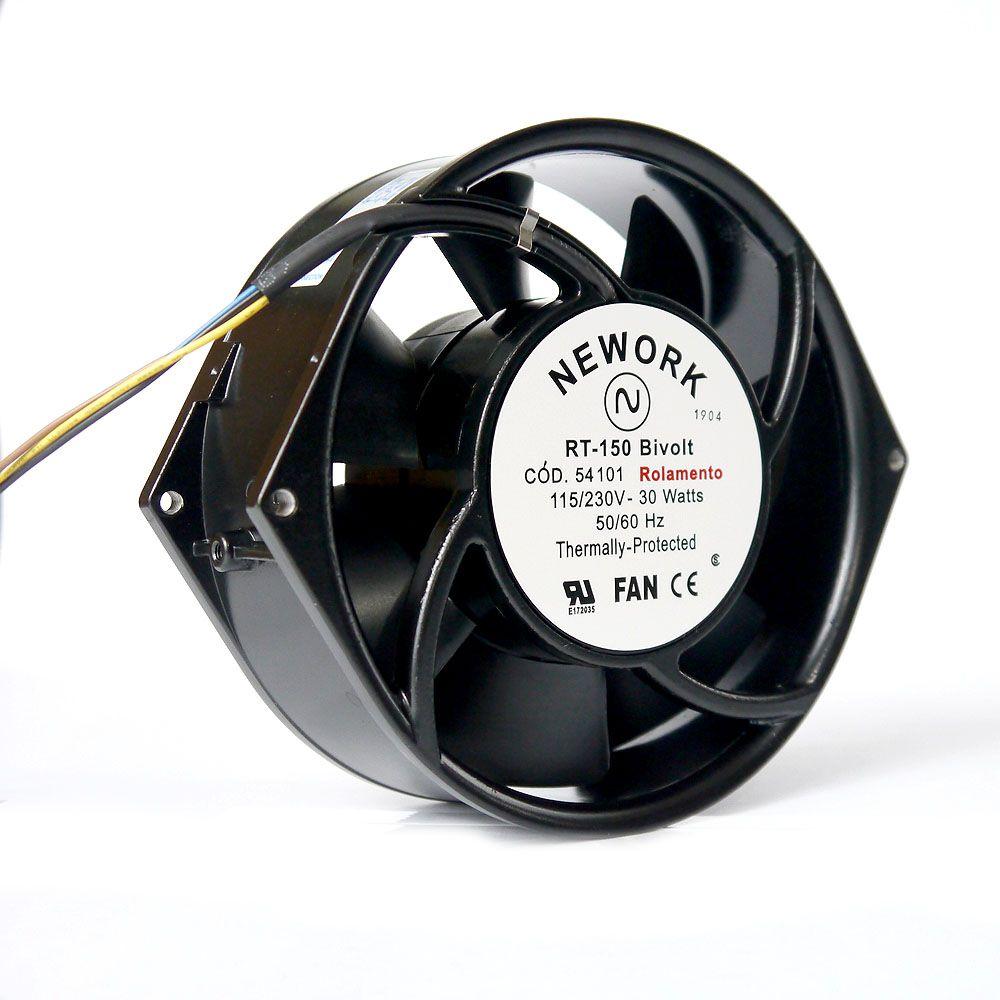 Miniventilador Nework 172X150X55 Bivolt Código 54.101