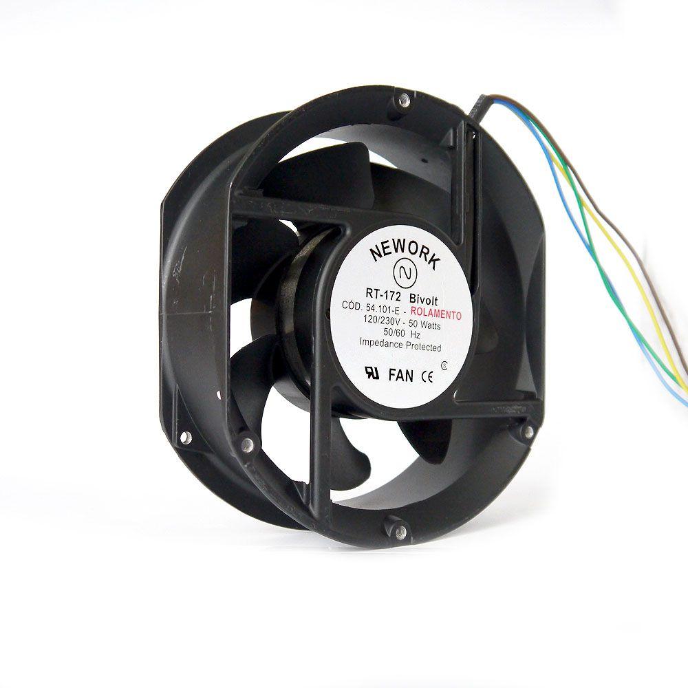 Miniventilador Nework 172X150X51 Bivolt Código 54.101E