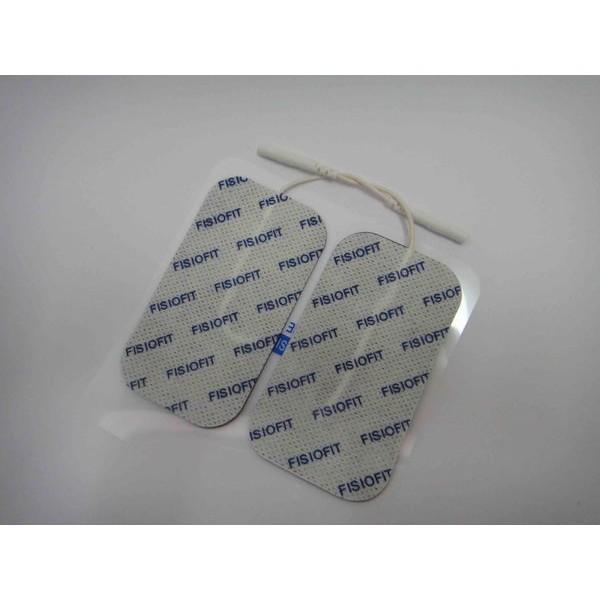 Eletrodo adesivo ret. 5 x 9 cm