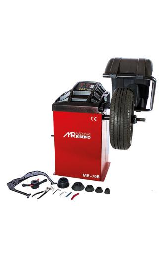 Balanceadora de rodas motorizada monofásico MR70B Ribeiro