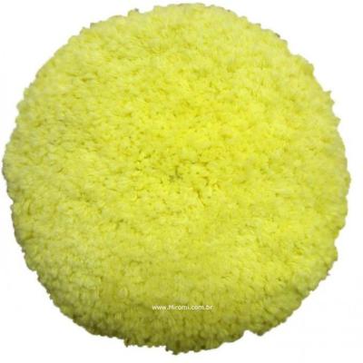 Boina Dupla Face Mini Macia  (Amarela)  POLITEC