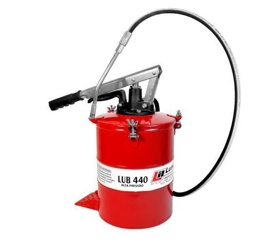 Bomba manual para graxa de alta pressão 8kg - LUB 440