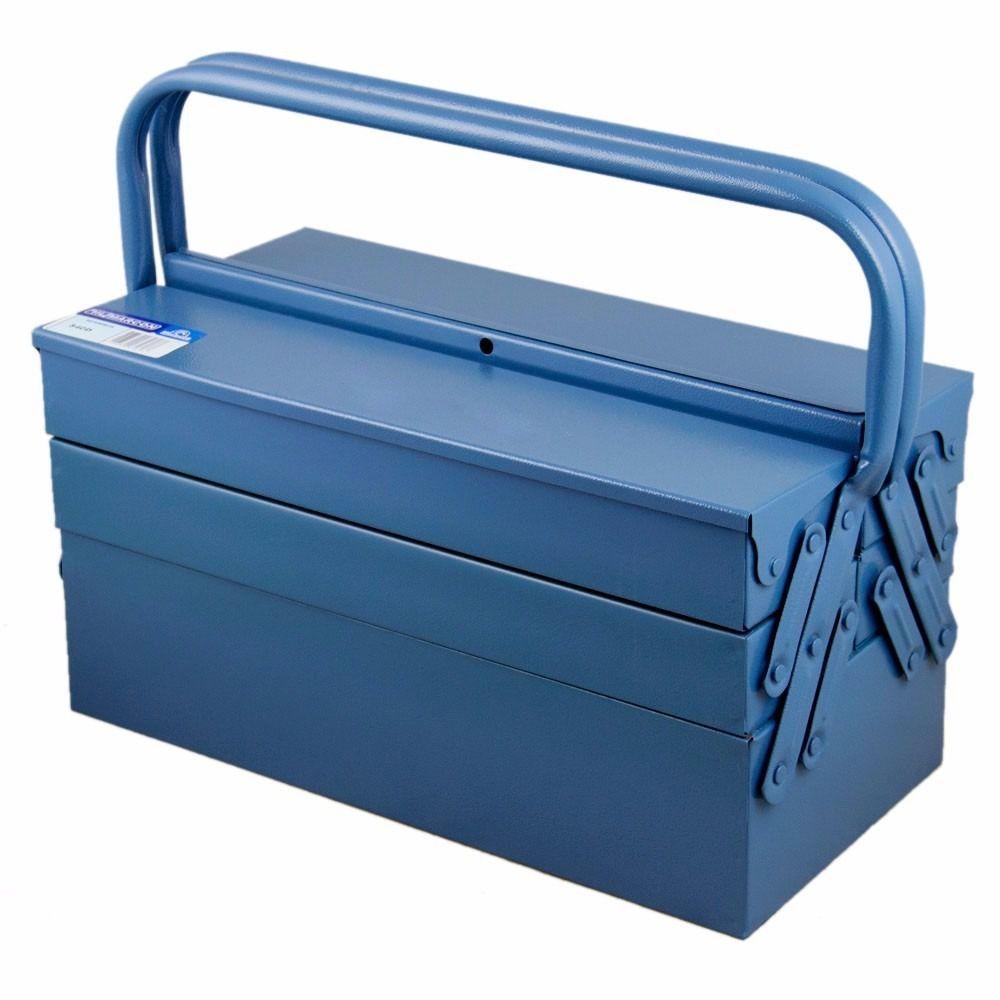 Caixa de ferramentas com 5 Gavetas Azul 550 MARCON
