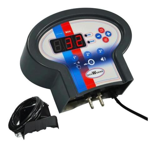 Calibrador Eletrônico De Pneus Bivolt 5 A 145 Psi SCH-145BOX - Schweers
