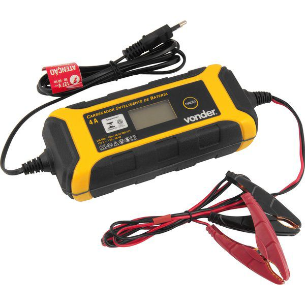 Carregador Inteligente de Bateria CIB 080  VONDER