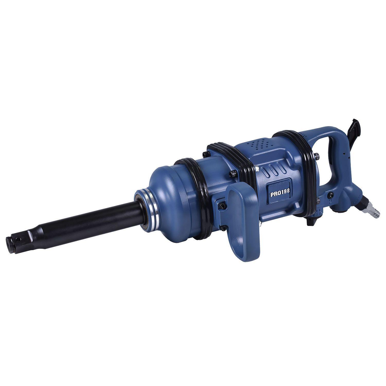 """Chave de Impacto Pneumática 1"""" 455 Kgfm Pro-198 LdLDRr-Pro"""