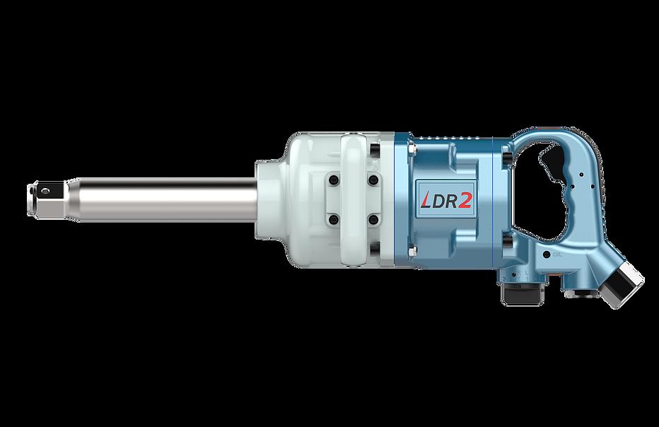 Chave de Impacto Pneumática +Torque Longa, 485Kgfm, 1Pol, LDR2 DR1-7020