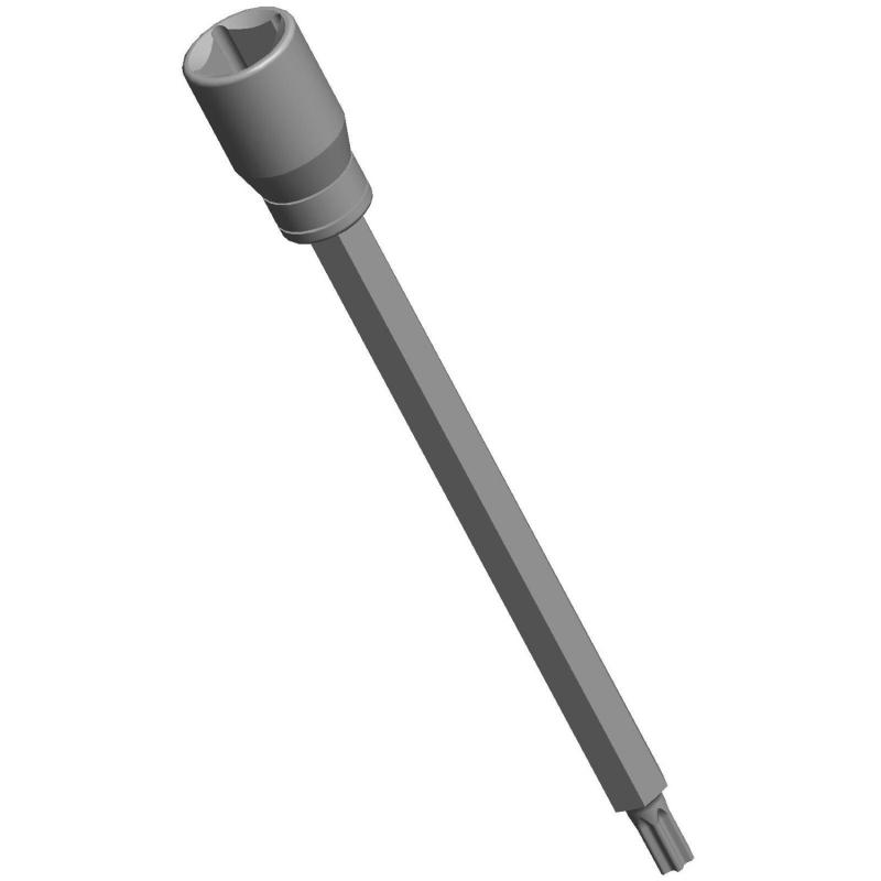 Chave T40 Longa 180mm x 3/8 pol. Para Parafusos do Cabeçote Zetec Rocam 121003 RAVEN