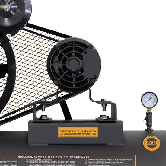 Compressor de ar alta pressão 20 pcm 200 litros, trifásico  - Chiaperini CJ 20+ APV 200L