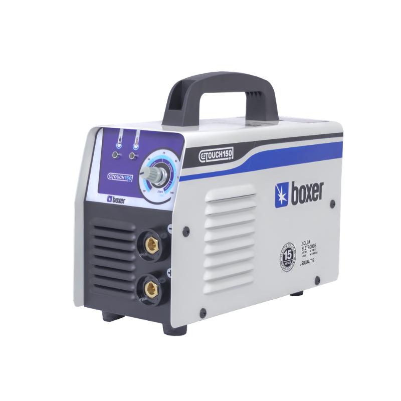 Inversora de solda 140 amperes para eletrodo revestido e tig - TOUCH150 (110V/220V) - Boxer