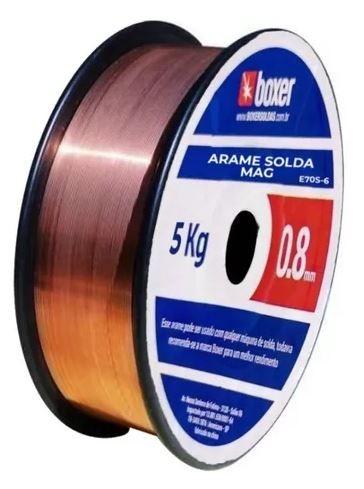 INVERSORA DE SOLDA MIGFLEX 160 BV  + Arame de Solda Boxer 5kg