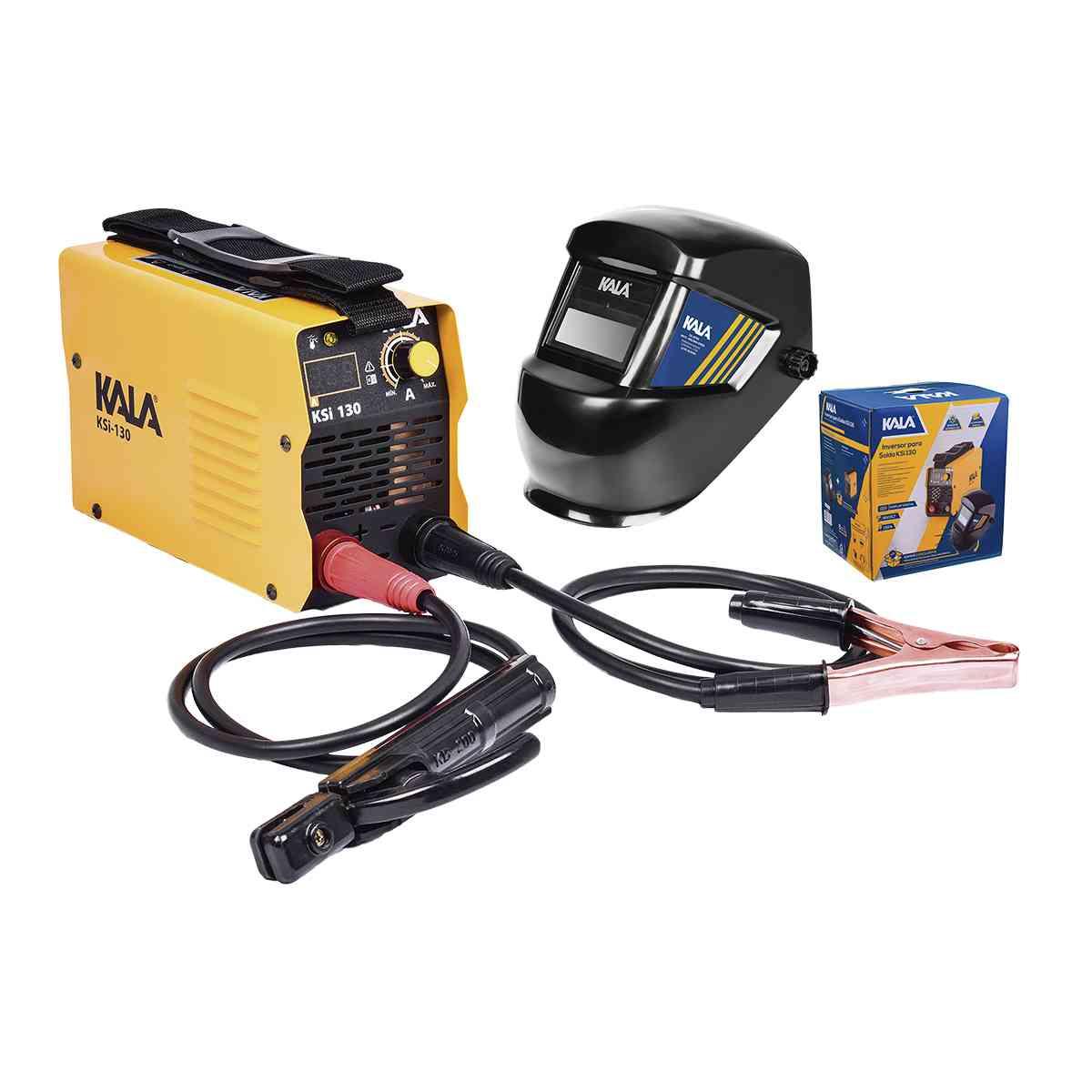 Kit Inversor de Solda 130A Ksi 130 Bivolt + Máscara - Kala