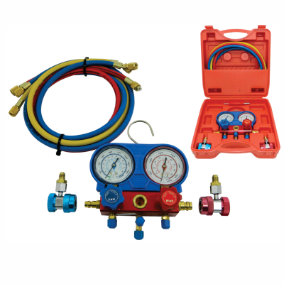 Manifold - Equipamento Para Auxiliar na Manutenção do Ar Condicionado Veicular  MFU-R134  PLANATC