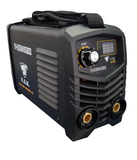 Máquina de Solda Inversora Mini 130A 220V  - USK-V-AK230MINI