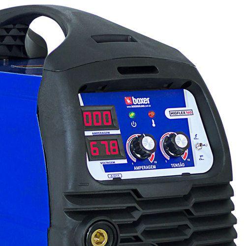 Máquina de Solda MIGFLEX TIG Eletrodo Soldas - MIGFLEX 160 Bivolt  BOXER