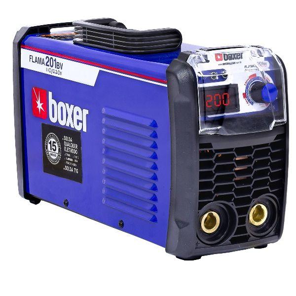 Máquina Inversora de Solda Tig Flama 201BV 200A Bivolt com Display Digital - BOXER