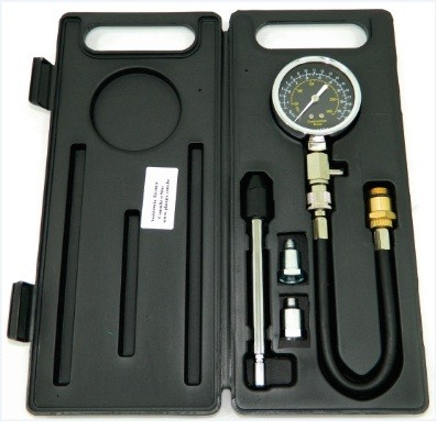 Medidor de Compressão 2 em 1 (Rosca e Pressão) Para Motores 8 e 16 Válvulas MC-1000/MOTO  PLANATC