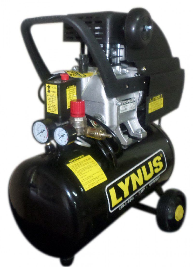 Motocompressor de ar LYN-7,4 pés/ 24L 127v