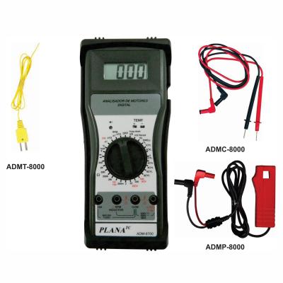 Multímetro Digital de Motores Automotivos Completo  ADM-8700  PLANATC