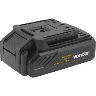 Parafusadeira / furadeira com impacto a bateria, 12 V, carregador bivolt, jg c/ 17 peças, PFV 012i, VONDER