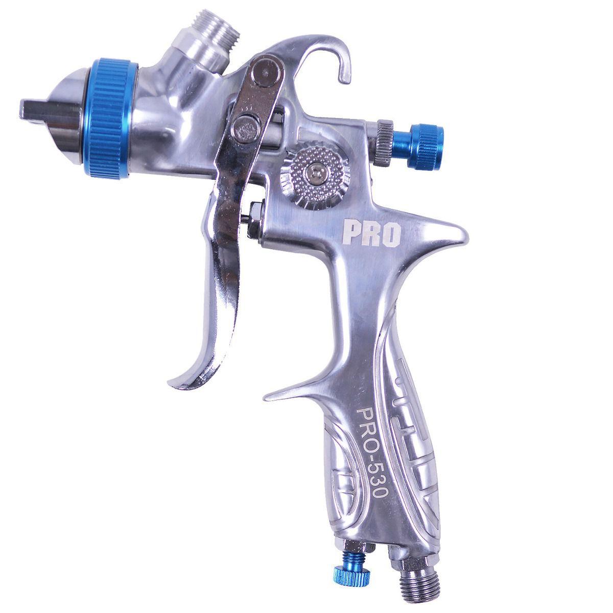 Pistola de Pintura Gravidade HVLP 1.3  600ml Pro-530 LDR-Pro