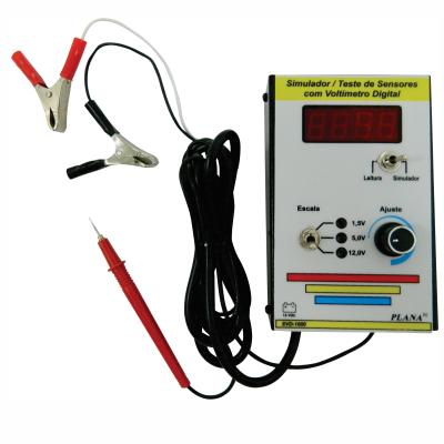 Simulador e Teste de Sensores com Voltímetro Digital SVD-1000 PLANATC