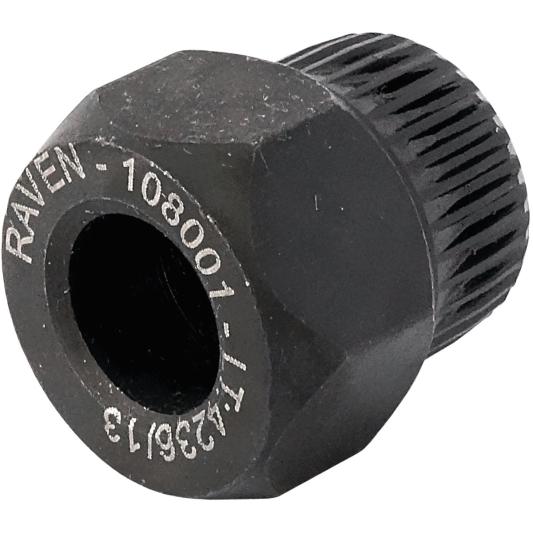 Soquete Especial Estriado e Sextavado para a Polia dos Alternadores Valeo e Bosch 108001 RAVEN
