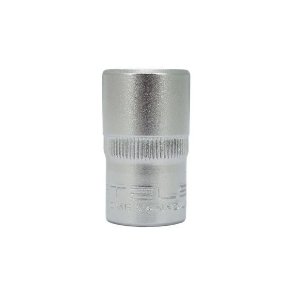Soquete Sextavado de 13 mm, encaixe 1/2 - STELS
