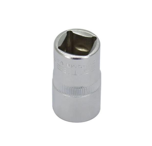 Soquete Sextavado de 16 mm, encaixe 1/2 - STELS